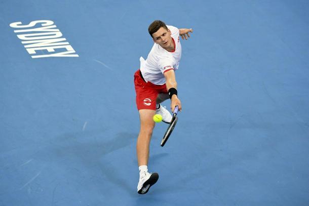 Hubert Hurkacz took down the world number four at the ATP Cup - ATP Cup: Hurkacz downs world number four Thiem