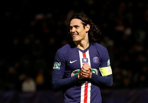 Paris Saint Germains Edinson Cavani is expected to join Atletico Madrid - Cavani still keen to hear from Chelsea, Man Utd