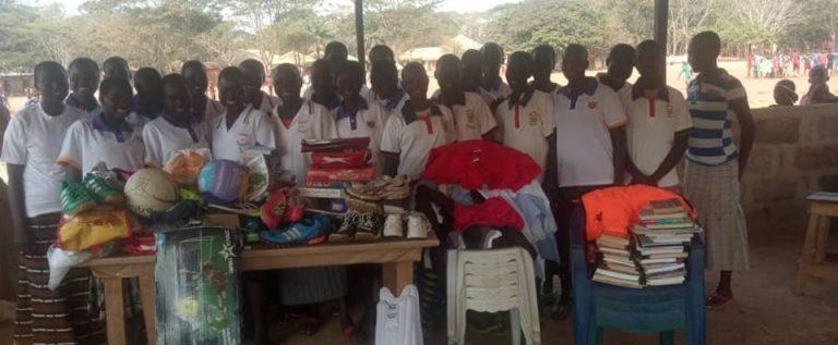 edema 1 - UK based Lord Taverner thumbs CSED for donating sports kits to Edo IDP