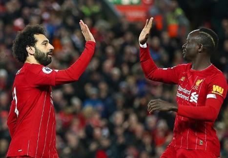 sm - EPL: Salah, Mane net as Liverpool cruise past Sheffield United