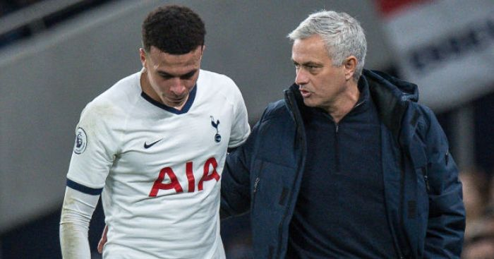 Mourinho to Alli: Fight your way back into the team