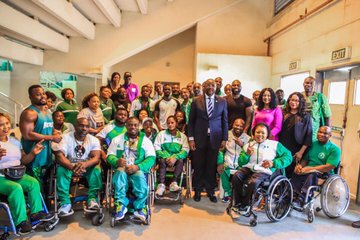EP7u93XW4AAhqYF - Abuja 2020: Be focused to win medals, Minister Charges Athletes