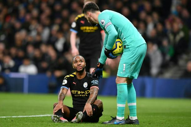 Manchester Citys Raheem Sterling has suffered a hamstring injury - Man City star Sterling to miss West Ham clash
