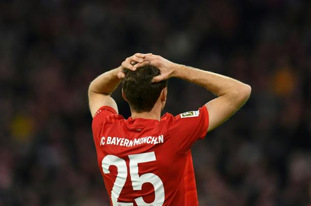 Muellers Bayern were held to a goalless draw - Bundesliga: Leipzig hold leaders Bayern to stay point behind