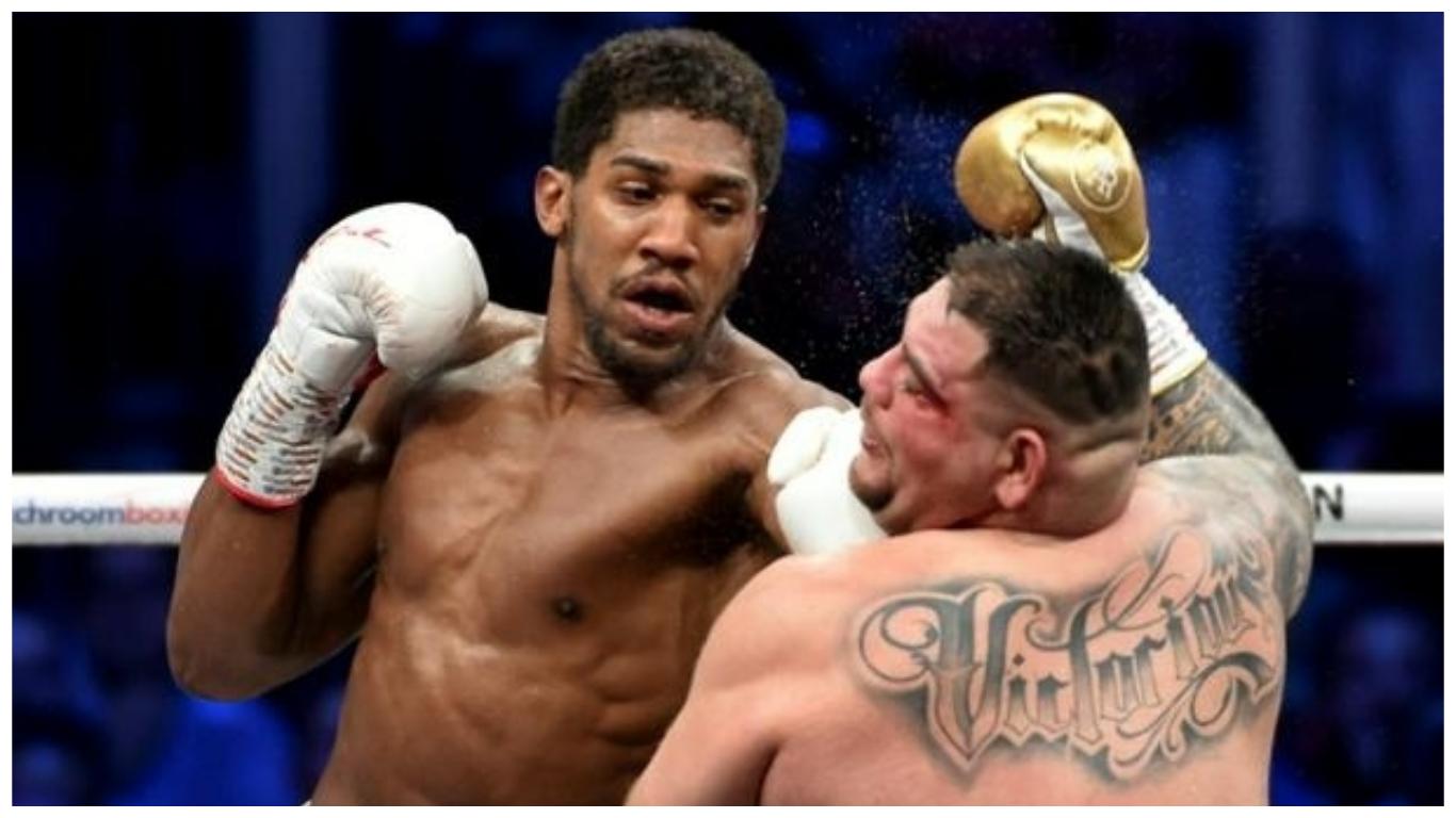 aj coll - Promoter: Anthony Joshua set for bout at Tottenham