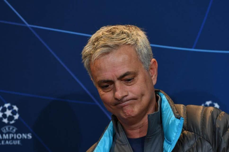 jose mourinho champions league - Mourinho opens up on Tottenham Champions League squad decisions
