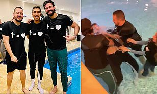 lisson becker - Liverpool star engaging in more baptisms than he's let in goals