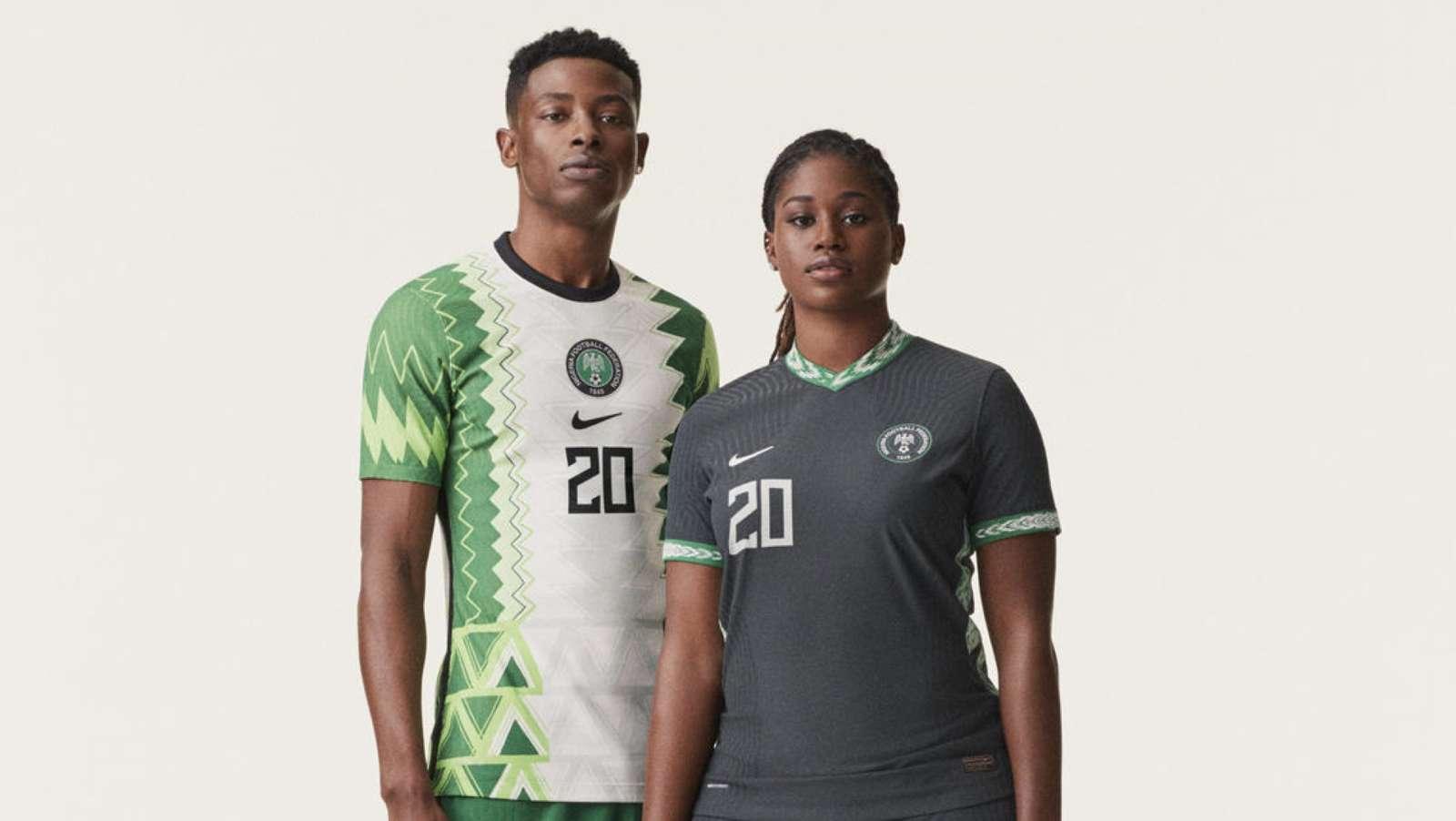 nike nigeria kits - NFF,Nike unveil Super Eagles, Falcons new jersey design