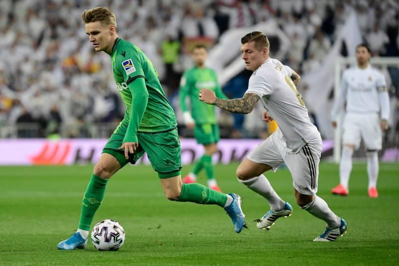 real madrid - Real Sociedad shock Real Madrid in Copa Del Rey