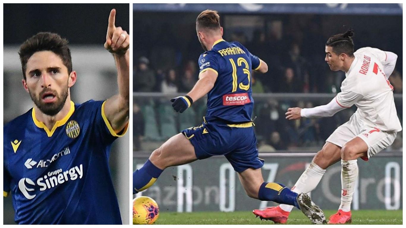 ron coll 3 - Serie A: Ronaldo nets as Verona stun Juventus in late comeback