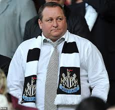 Newcastle United owner Mike Ashley walk away from the negotiating table