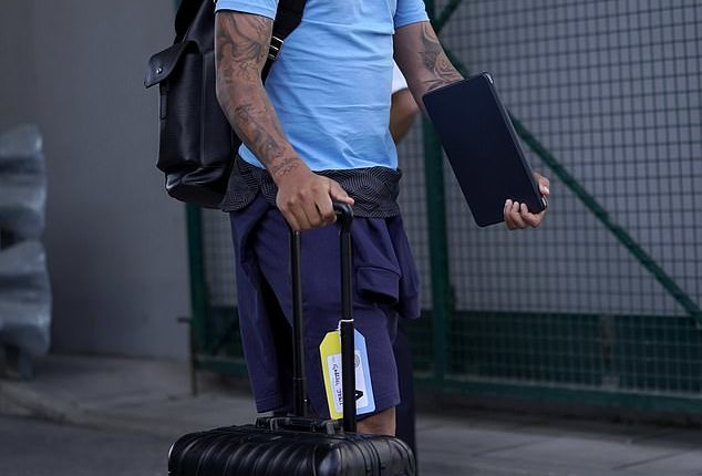 Gabriel Jesus appeared in good spirits as City hope to lift silverware in Portugal