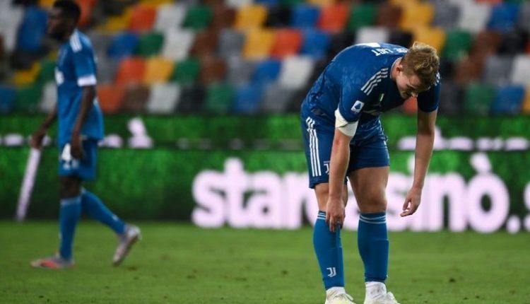 Juventus' Dutch defender Matthijs de Ligt had surgery on his right shoulder.