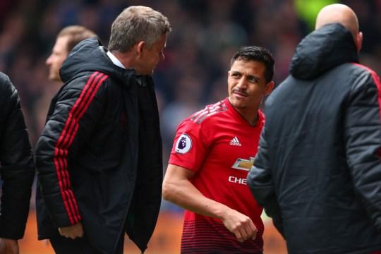 Sanchez endured a nightmare 18 months at Old Trafford