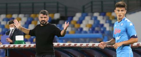 Gattuso sees improvement in Napoli's win over Benevento