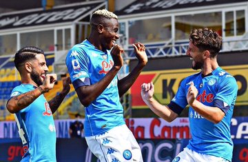 Osimhen sends 'get well' message to lorenzo Insigne