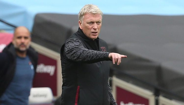 Moyes celebrates West Ham victory over Tottenham