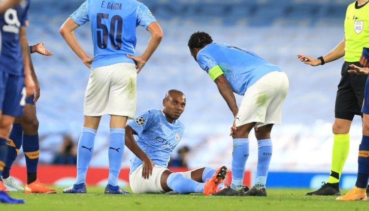 Fernandinho Injured
