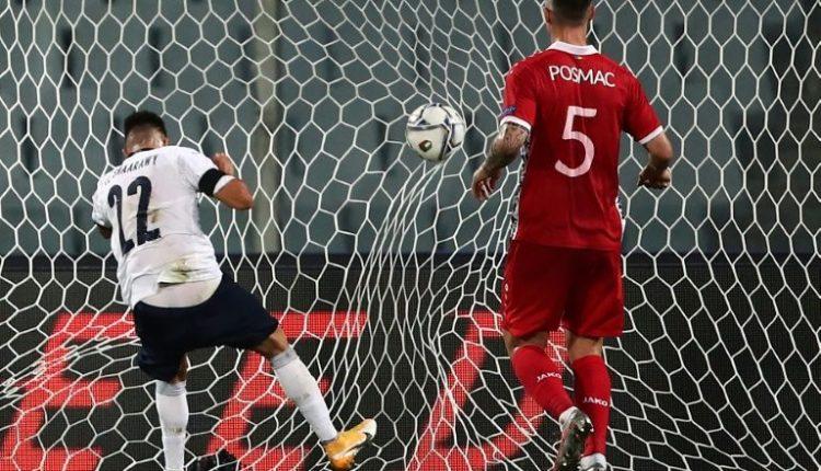 Italy's Stephan El Shaarawy (L) scored twice in a friendly win over Moldova last week.