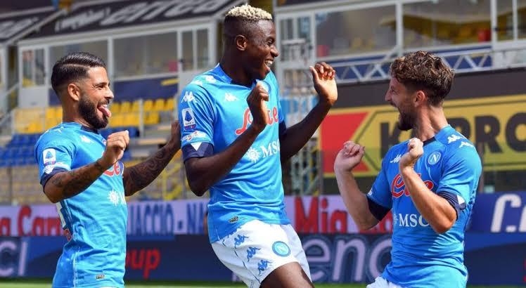 Osimhen's Napoli victory over Benevento