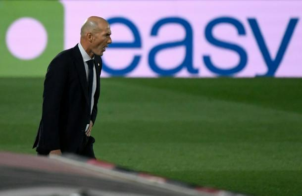 Zinedine Zidane made four changes at half-time as Real Madrid lost 1-0 at home to Cadiz on Saturday.
