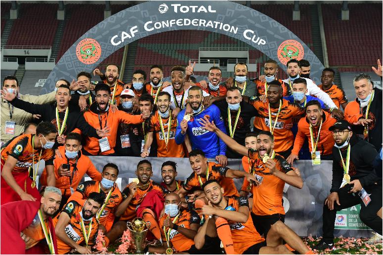 Dayo strikes as Berkane claim CAF Confederation Cup