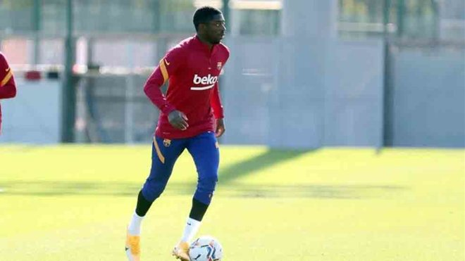 Dembele impresses club boss Koeman at Barcelona