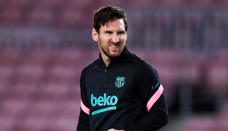 Koeman drops Messi out of UCL Squad To Face Dynamo Kiev