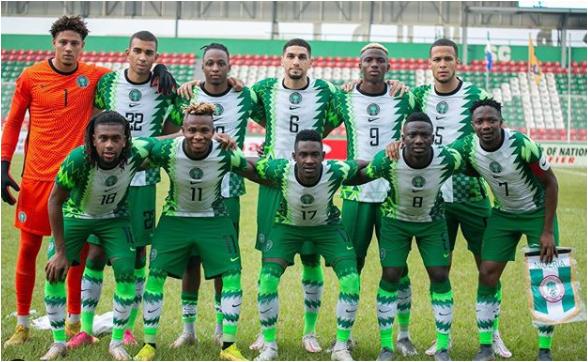 Nigeria drops three places in latest FIFA ranking