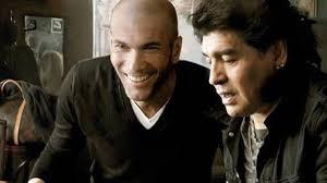 zidane and maradona