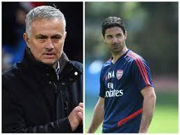 arteta and mourinho