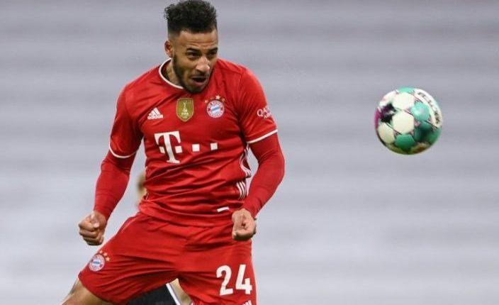Bayern Munich midfielder Corentin Tolisso