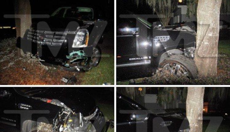 Tiger Woods survivess 'horror' auto-crash
