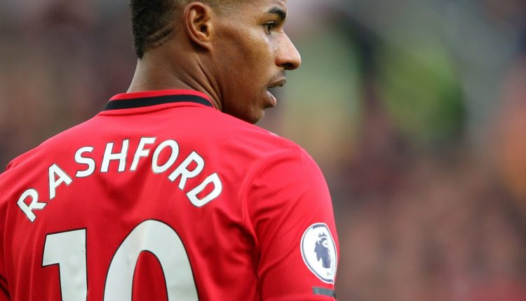 Rashford sets goalscoring target for Man Utd