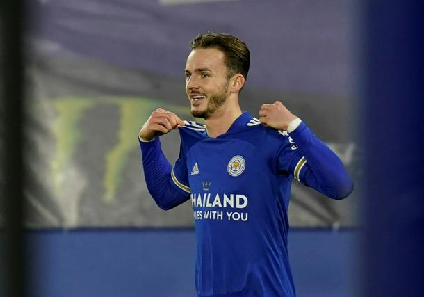 James Maddison has been a standout player for Leicester this season