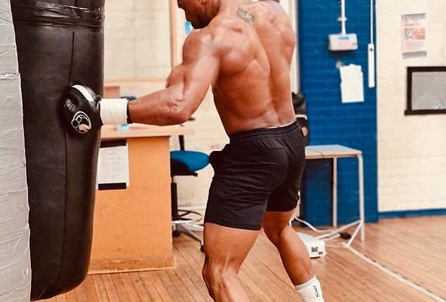 Joshua in training