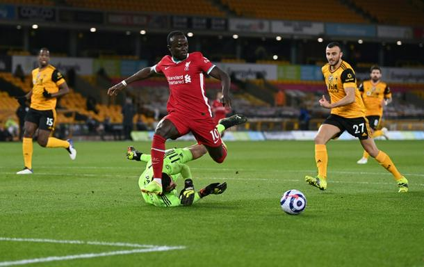 Liverpool and Senegal forward Sadio Mane (C) will be one of the star attractions at the 2021 Africa Cup of Nations in Cameroon