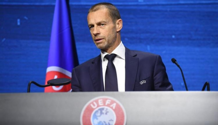 UEFA have threatened to expel the three sides from the Champions League.