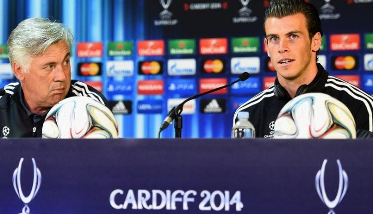 Ancelotti and Bale