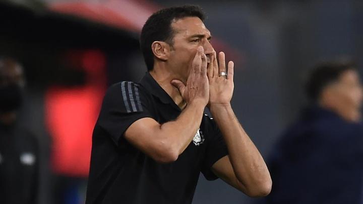Argentina head coach Lionel Scaloni