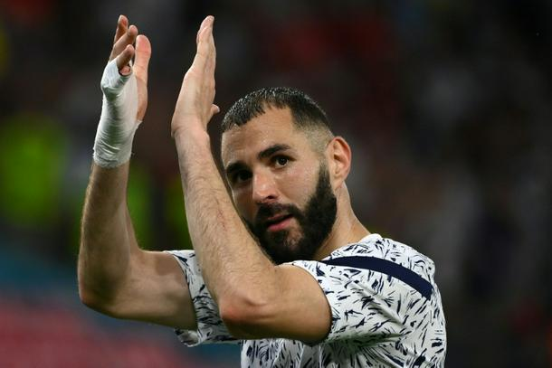 Benzema scored his 28th and 29th goals for France
