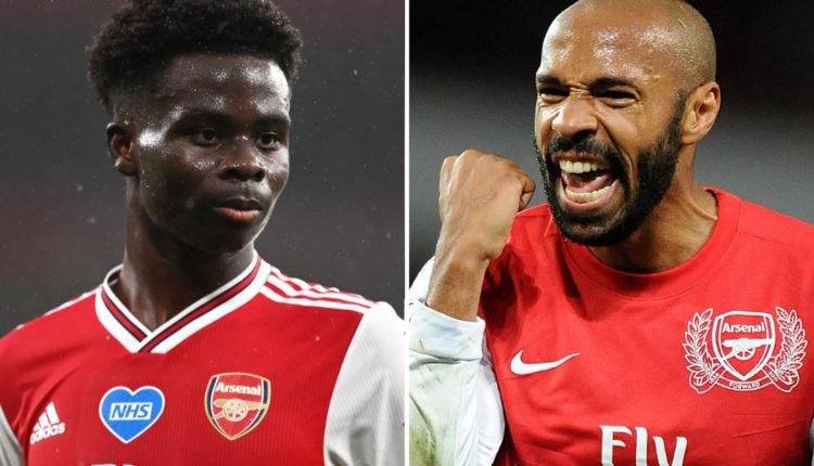 Bukayo-Saka-and-Thierry-Henry