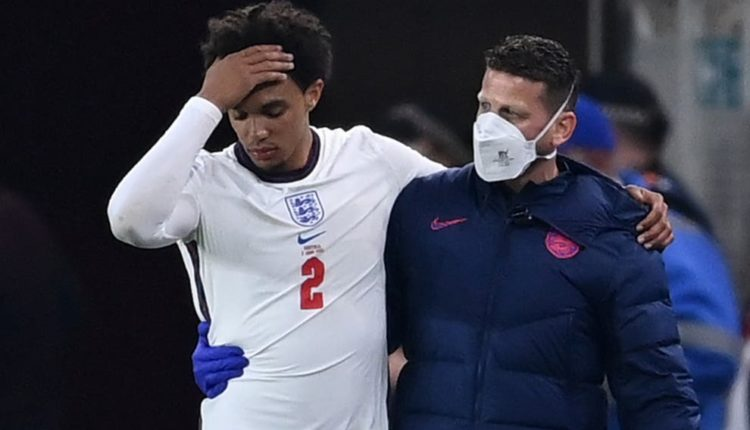 Gareth Southgate admitted that Trent Alexander-Arnold's injury
