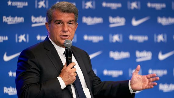 Joan Laporta is tasked with making Barcelona financially healthy again.