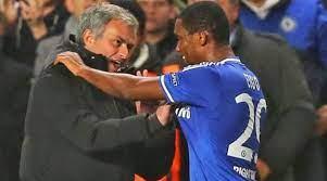 Mourinho and Eto'o