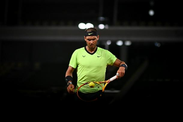Rafael Nadal marked his 35th birthday with victory over Richard Gasquet at the French Open but few were able to watch in person