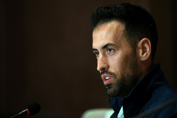 Sergio Busquets won the 2010 World Cup and Euro 2012 with Spain