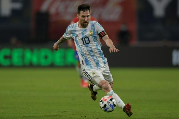 Superstar Lionel Messi scored a penalty in Argentina's 1-1 draw with Chile in their last World Cup qualifier