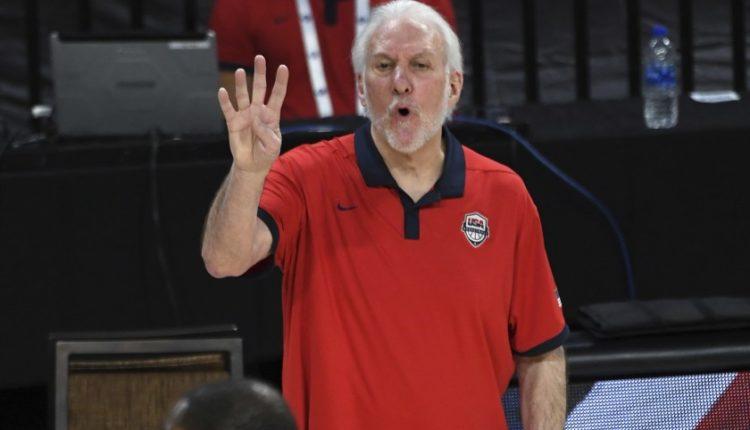 American basketball coach Gregg Popovich