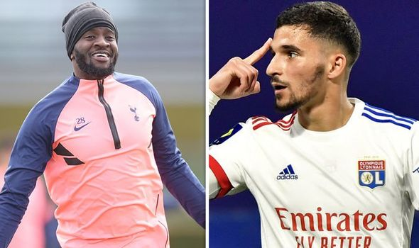 Houssem Aouar by offering Tanguy Ndombele